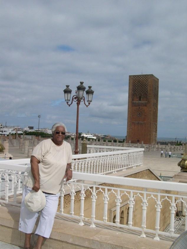 Rabat La tour inachavée de la mosquée Hassan