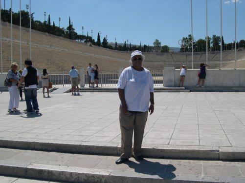 le nouveau stade Olympique et Jeanne